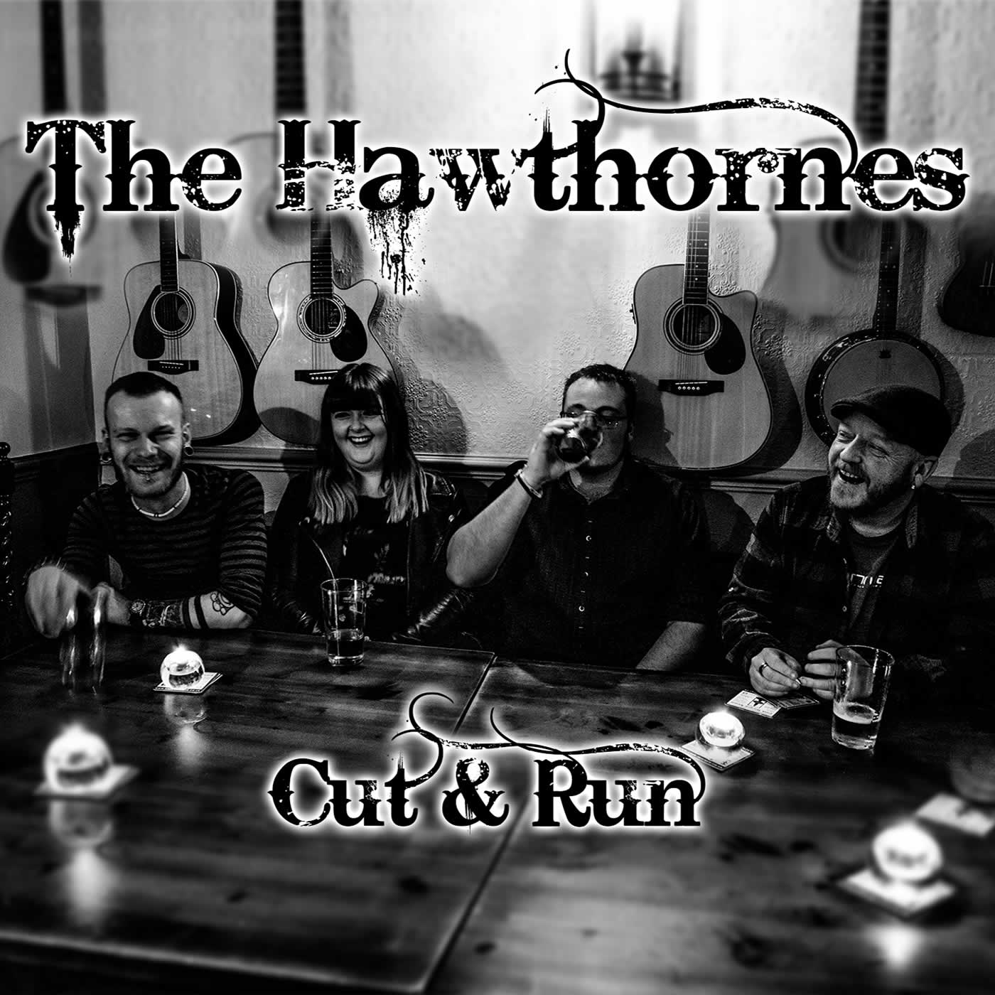 The Hawthornes album cover for Cut & Run