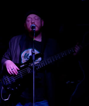 Member - Gordy Partridge on bass and backing vocals