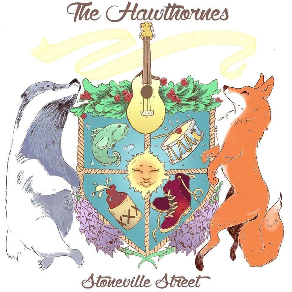 The Hawthornes album cover for Stoneville Street